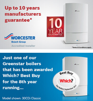 Worcester Boiler Guarantee Airdrie